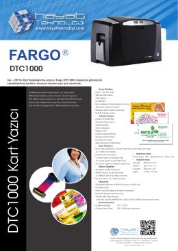 TR DTC1000 - Hayat Teknoloji