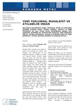Konuşma Metni Ragıp Duran (pdf, 106 KB) - Konrad