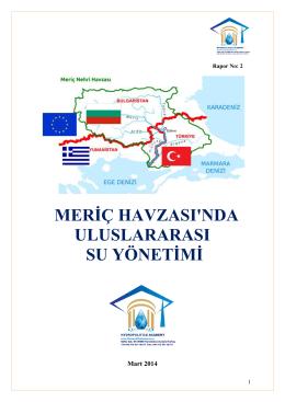 meriç raporunu indir - Hidropolitik Akademi