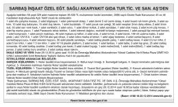 sarbaş inşaat. - Özgür Kocaeli Gazetesi