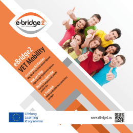 eBridge2 VET Mobility