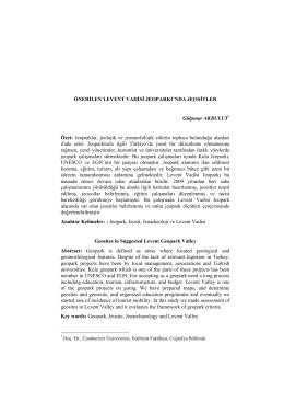 Download this PDF file - Cumhuriyet Üniversitesi