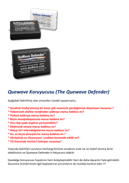 Quewave Koruyucusu (The Quewave Defender)