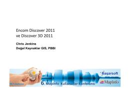 6. MapInfo Kullanıcılar Konferansı
