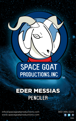 EDER MESSIAS - Space Goat Productions