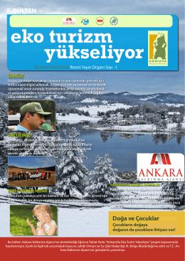 eko turizm yükseliyor - Eğriova Tabiat Parkı