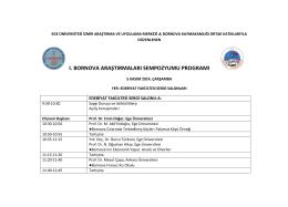 bornova program ııı