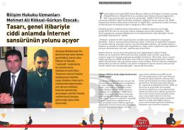 TBD Bilişim Hukuku Uzmanları Mehmet Ali Köksal