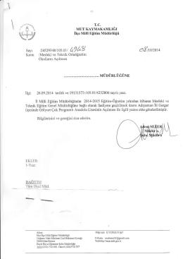 axırcızoıq - mut ilçe millî eğitim müdürlüğü