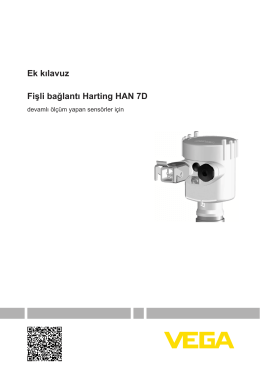 Fişli bağlantı Harting HAN 7D - devamlı ölçüm yapan