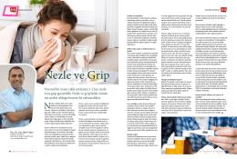 Nezle ve Grip - Doç. Dr. Can Alper Çağıcı