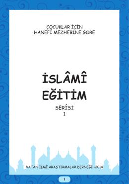 İSLÂMÎ EĞİTİM