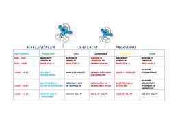 mavi şirinler haftalık program - Özel Mavi Umut Oyun ve Sanat Evi