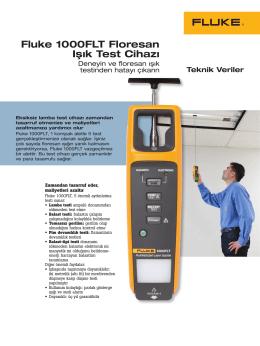 Fluke 1000FLT Floresan Işık Test Cihazı