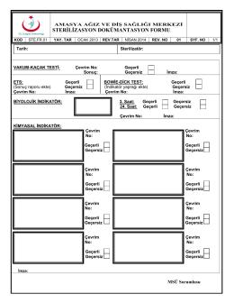 ste.fr.01 sterilizasyon dokümantasyon formu(1)