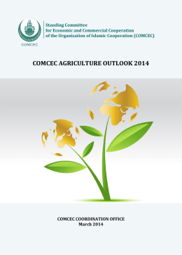 COMCEC AGRICULTURE OUTLOOK 2014