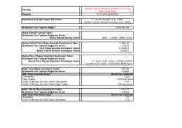Garanti Yatırım Menkul Kıymetler A.Ş. B Tipi Tahvil ve Bono Fonu