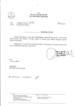 a!ııoızoıc - mut ilçe millî eğitim müdürlüğü