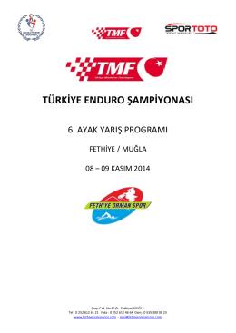türkiye enduro şampiyonası - Türkiye Motosiklet Federasyonu