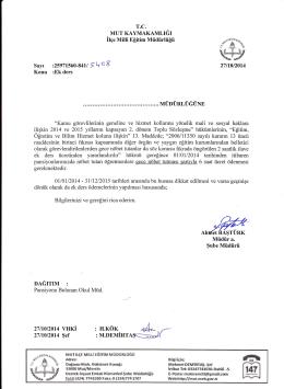 ü6ş} - mut ilçe millî eğitim müdürlüğü