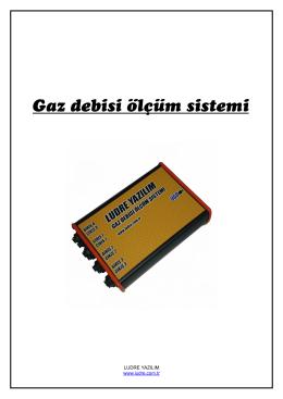 Gaz debisi ölçüm sistemi