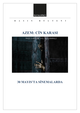 AZEM: CİN KARASI - Chantier Films