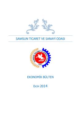 Eko-Bülten - Samsun Ticaret ve Sanayi Odası