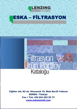 ESKA – FİLTRASYON