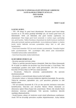 GSB Müsteşarı Kamuran Özden (Mert Yaşar)