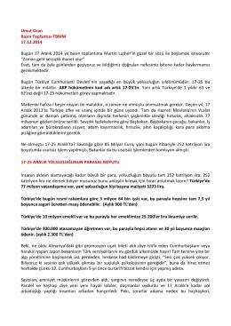 PDF, 211KB - CHP İstanbul Milletvekili Umut Oran