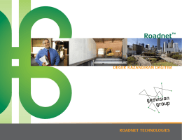 RoadNet – Dağıtım Optimizasyonu