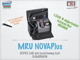 Novaplus Kampanya - Penta Otomasyon