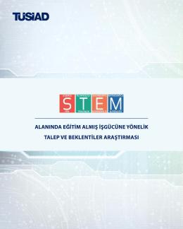 STEM Alanında Eğitim Almış İşgücüne Yönelik Talep ve