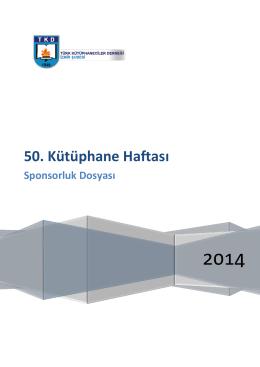 50. Kütüphane Haftası - TKD İzmir Şubesi
