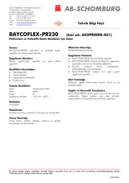 BAYCOFLEX-PR230 (Eski adı: ASOPRIMER-AS1) - ab