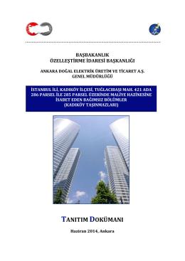 ihale şartları belgesi - Ankara Doğal Elektrik Üretim ve Ticaret A.Ş.