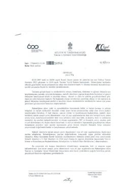 13/05/2014 tarih ve 93501 sayılı Mali Yardım Genelgesi için tıklayınız.
