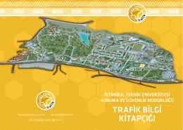 trafik bilgi kitapçığı - İstanbul Teknik Üniversitesi