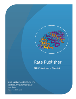 Rate Publisher