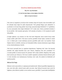 İnguinal Herni(KASIK FITIĞI) - Dr. Sami Ulus Eğitim ve Araştırma