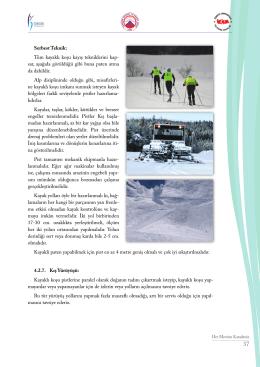 Serbest Teknik: Tüm kayaklı koşu kayış tekniklerini kap