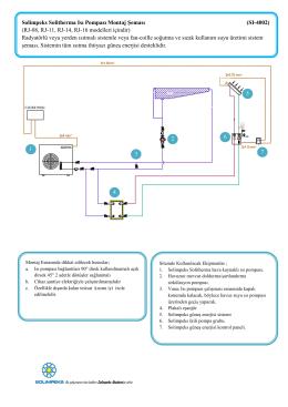Solimpeks Solitherma Isı Pompası Montaj Şeması (SI-4002) (RJ