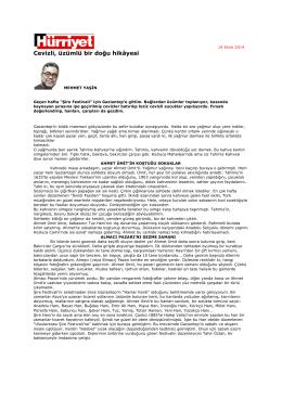 hürriyet gazetesi 14.10.2013