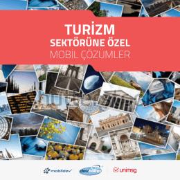 Turizm Sektörüne Özel Mobil Çözümler