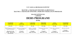 TIKLAYINIZ (format-2) - Sosyal Bilimler Enstitüsü