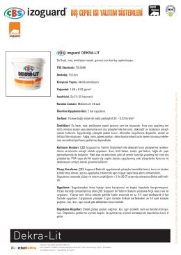 cbsizoguard-yalıtım levha yapıştırma harcı