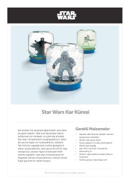 Star Wars Kar Küresi