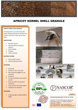 APRICOT KERNEL SHELL GRANULE