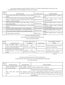 Enerji Piyasası Düzenleme Kurulunun 03/09/2014, 10/09