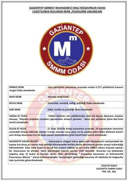Yeni Logomuz - Gaziantep SMMM Odası